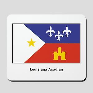 Louisiana Acadian Flag Mousepad