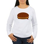 Cheeseburger - The Single! Women's Long Sleeve T-S