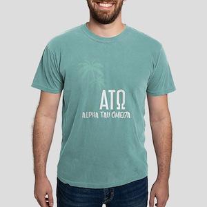 Alpha Tau Omega Palm T Mens Comfort Color T-Shirts