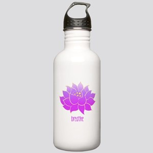 Breathe Lotus Stainless Water Bottle 1.0L