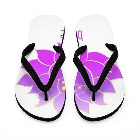 Breathe Lotus Flip Flops