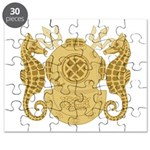 Navy Diving Officer Puzzle