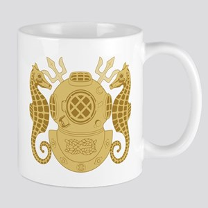 Navy Diving Officer Mug