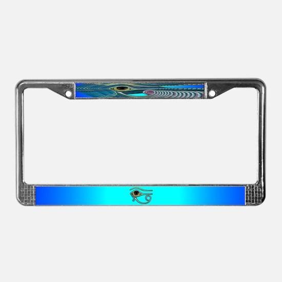 Egyptian Eye License Plate Frame