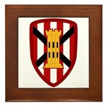 7th Engineer Bde Framed Tile