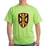 7th Engineer Bde Green T-Shirt