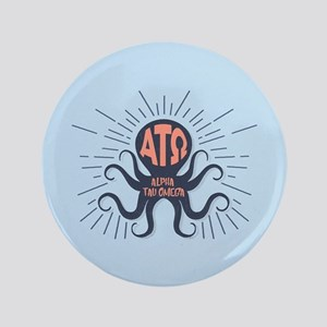 Alpha Tau Omega Octopus Button