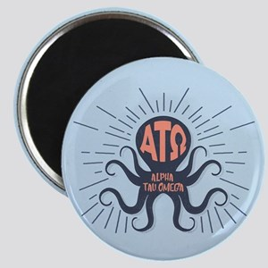 Alpha Tau Omega Octopus Magnet