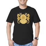 Navy Diving Medical Of Men's Fitted T-Shirt (dark)