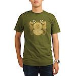 Navy Diving Medical O Organic Men's T-Shirt (dark)