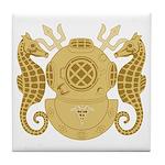 Navy Diving Medical Officer Tile Coaster