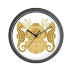 Navy Diving Medical Officer Wall Clock