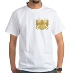 Navy Diving Medical Officer White T-Shirt