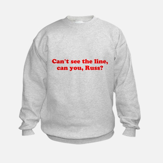 Can't see the Line Sweatshirt