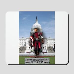 Obama Super Hero Mousepad