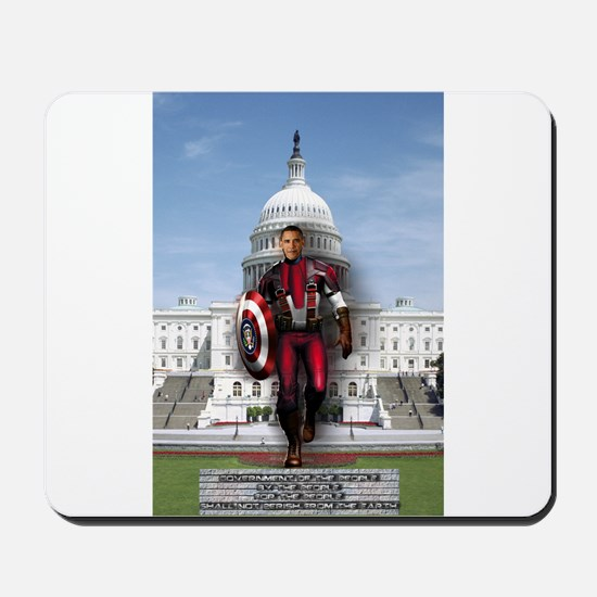 Obama Super Hero Mousepad