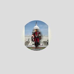 Obama Super Hero Mini Button