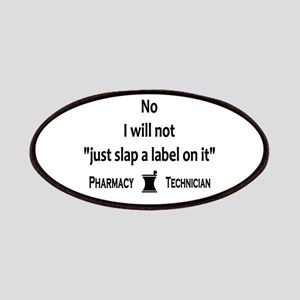Pharmacy - Just Slap A Label On It Patches
