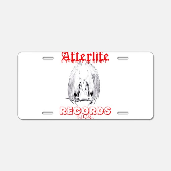 Afterlife Records LLC Aluminum License Plate
