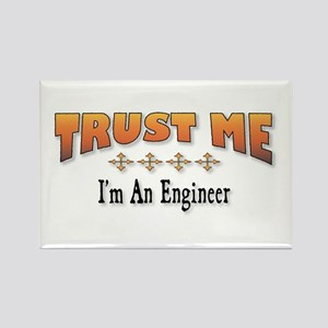 Trust Engineer Rectangle Magnet