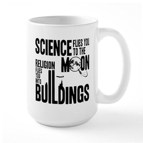 Science Vs. Religion Large Mug