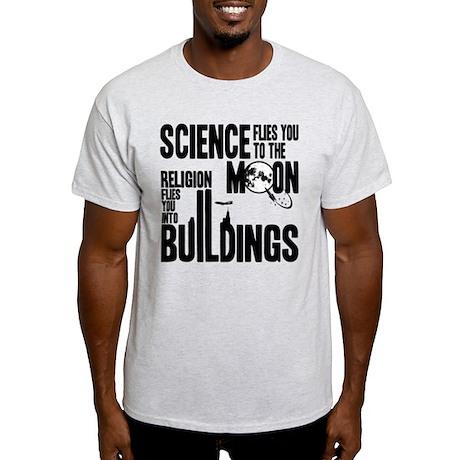 Science Vs. Religion Light T-Shirt