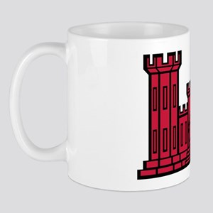Engineer Branch Insignia - Red Mug