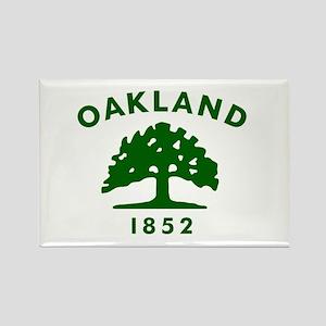 Oakland 1852 Flag Rectangle Magnet