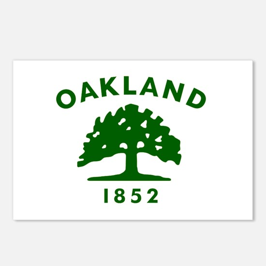 Oakland 1852 Flag Postcards (Package of 8)