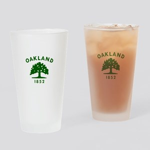 Oakland 1852 Flag Drinking Glass