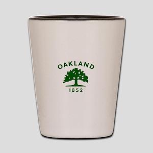 Oakland 1852 Flag Shot Glass