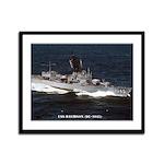 USS DAVIDSON Framed Panel Print