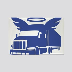 trucker angel Magnets