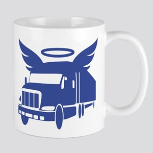 trucker angel Mugs