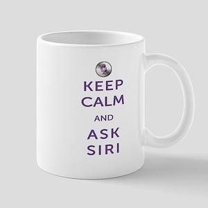 Keep Calm and Ask Siri Mug