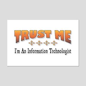 Trust IT Mini Poster Print
