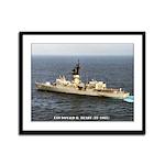 USS DONALD B. BEARY Framed Panel Print