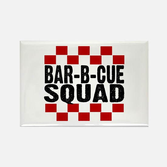 BBQ SQUAD Rectangle Magnet