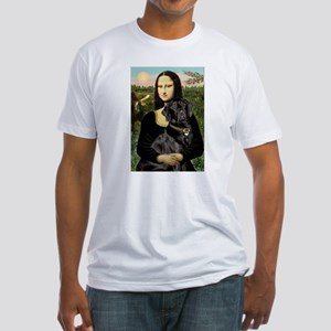 Mona's Black Lab Fitted T-Shirt