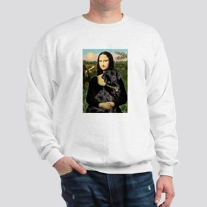 Mona's Black Lab Sweatshirt