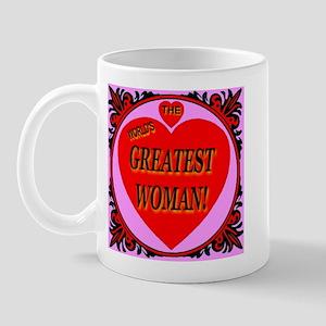 The World's Greatest Woman Mug