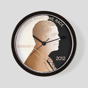 Obama Humanity Penny Wall Clock