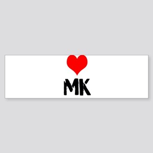 Love MK Sticker (Bumper)