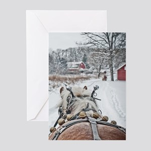 Jingle Bells Christmas Cards (Pk of 10)