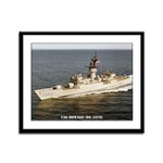 USS DOWNES Framed Panel Print