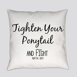 Tighten Your Ponytail and Fight Everyday Pillow