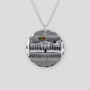 THE BLACK HOUSE Necklace Circle Charm