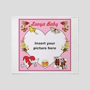 Love and Romance Throw Blanket
