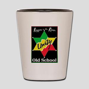 OLD SCHOOL Shot Glass
