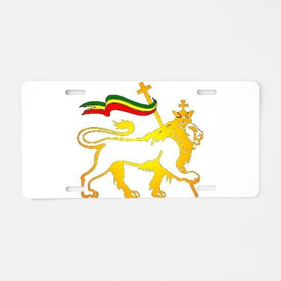 KING OF KINGZ LION Aluminum License Plate